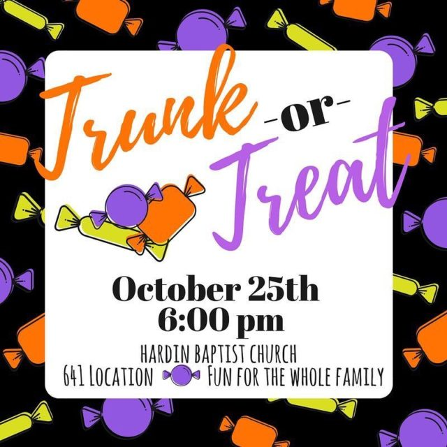 Less than a week until our annual Trunk Or Treat!!hellip