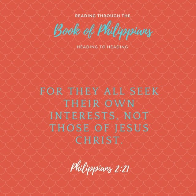 Daily Scripture Reading for Tuesday February 13th Philippians 2 Timothyhellip