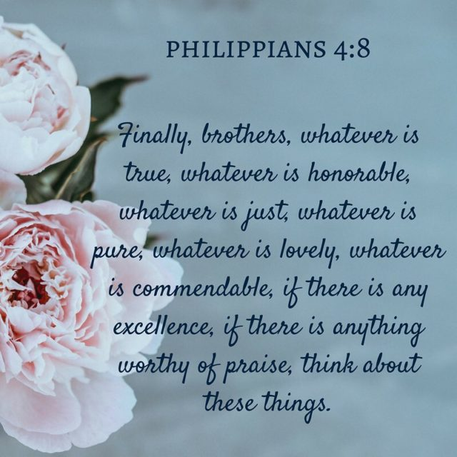 Daily Scripture Reading for Monday February 19th Philippians 4 4hellip