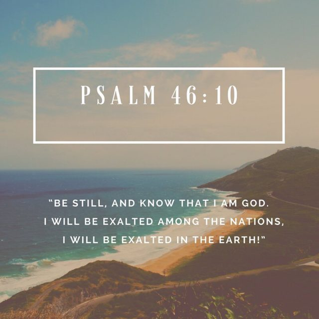 Daily Scripture Reading for Wednesday February 14th Psalm 46 Godhellip